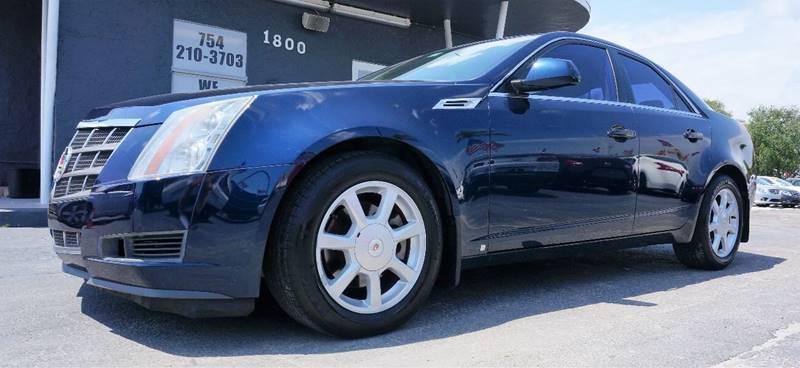 2008 CADILLAC CTS 36L DI 4DR SEDAN blue 17 x 8 painted aluminum wheelsfront bucket seatsle