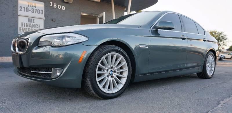 2012 BMW 5 SERIES 535I 4DR SEDAN gray 18 x 80 radial-spoke style 237 wheelspower front se