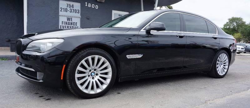 2012 BMW 7 SERIES black heated multi-contour seats wlumbar supportnappa leather upholsteryamf