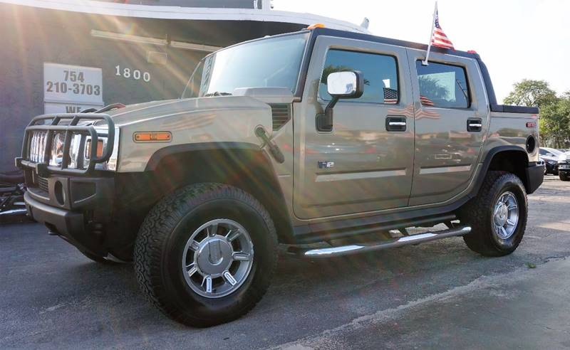 2005 HUMMER H2 SUT BASE 4WD 4DR CREW CAB SB PICKUP pewter 410 rear axle ratiofront reclining bu