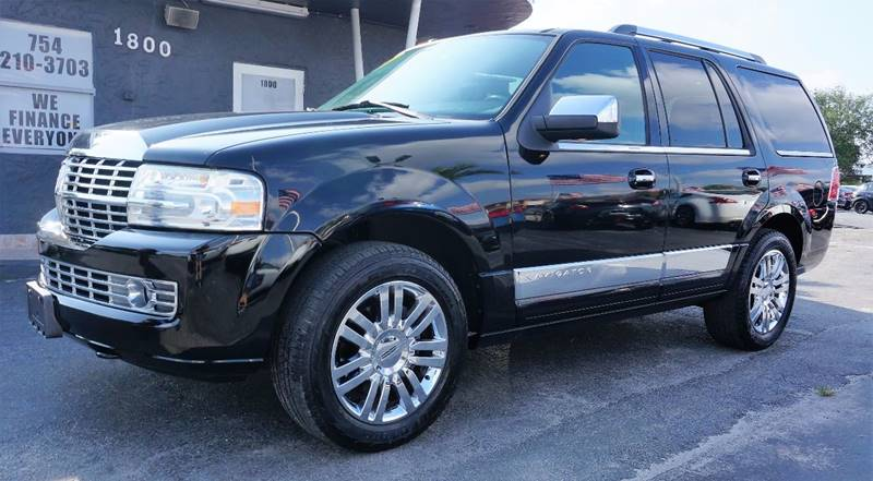 2008 LINCOLN NAVIGATOR BASE 4DR SUV black clearcoat 373 rear axle ratioleather trimmed low back