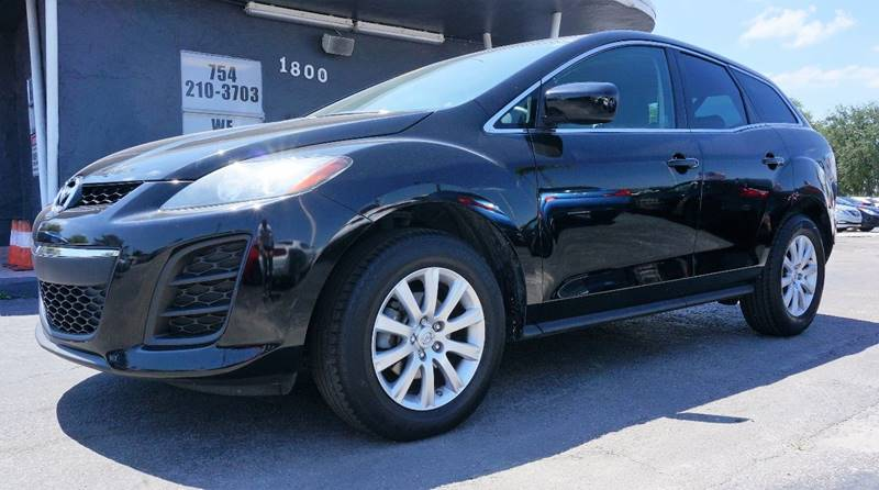 2010 MAZDA CX-7 I SPORT 4DR SUV brilliant black clearcoat 3863 axle ratioreclining front bucket