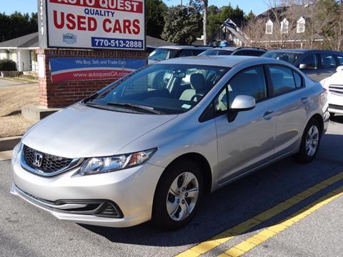 2013 Honda Civic For Sale >> 2013 Honda Civic For Sale Carsforsale Com