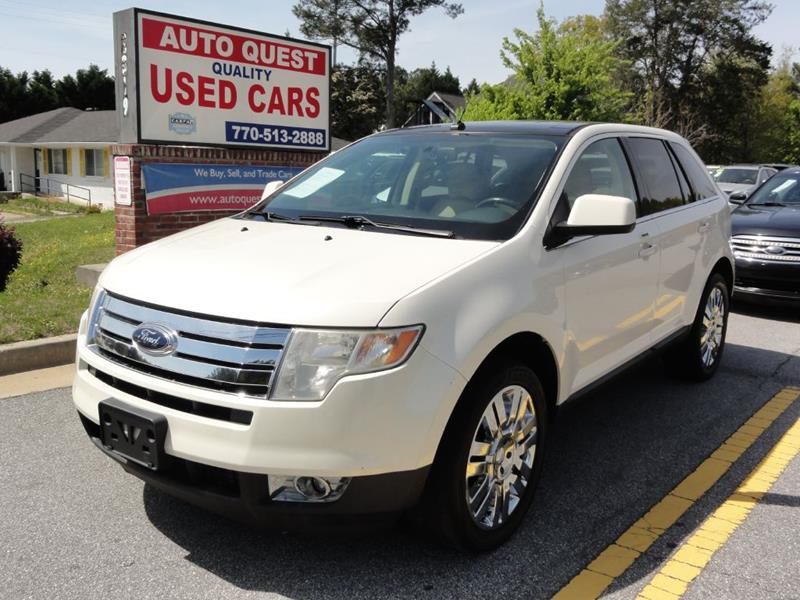 Ford Edge Limited Dr Crossover Lawrenceville Ga