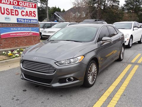 2014 Ford Fusion for sale in Lawrenceville, GA