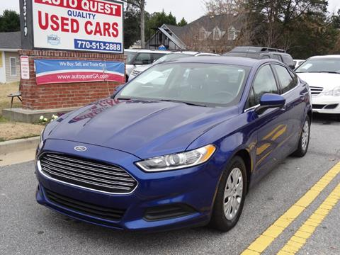 2013 Ford Fusion for sale in Lawrenceville, GA