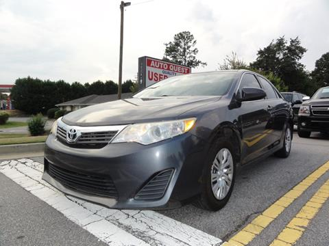 2013 Toyota Camry for sale in Lawrenceville, GA