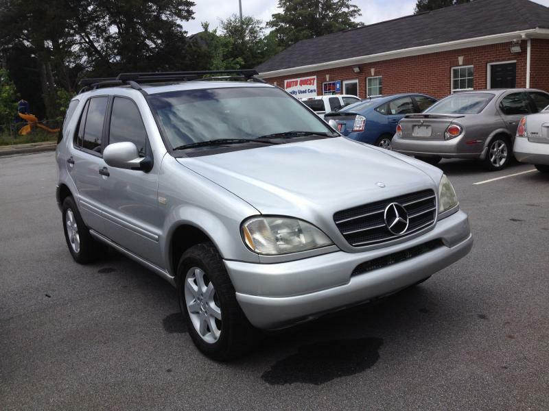 2000 Mercedes-Benz M-Class ML430 AWD 4MATIC 4dr SUV