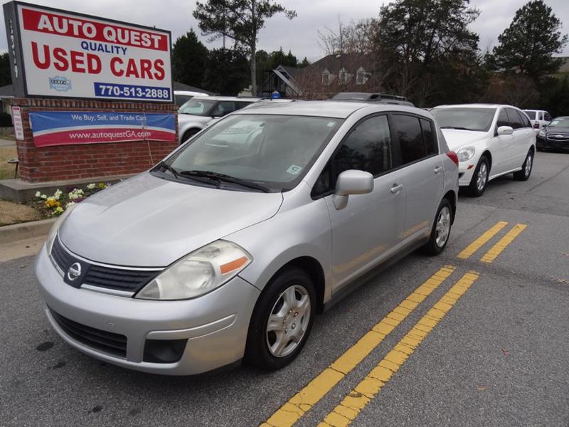 2007 Nissan Versa 1.8 S 4dr Hatchback (1.8L I4 4A)