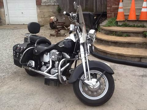 1997 Harley-Davidson Heritage Softail  for sale at Kneezle Auto Sales in Saint Louis MO
