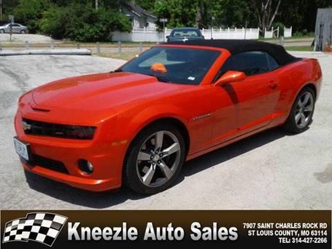 Chevrolet Camaro For Sale In Saint Louis Mo Kneezle Auto