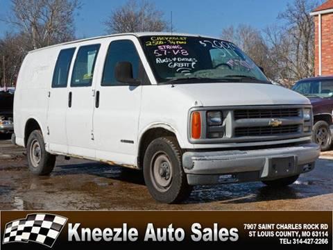 Chevrolet Chevy Van For Sale In Saint Louis Mo Kneezle