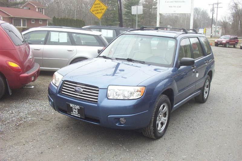 2007 Subaru Forester for sale at Motors 46 in Belvidere NJ