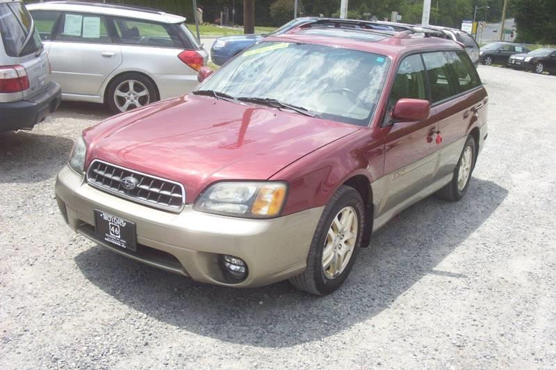 2003 Subaru Outback Awd Limited 4dr Wagon In Belvidere Nj Motors 46