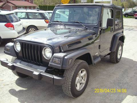2002 Jeep Wrangler for sale in Belvidere, NJ