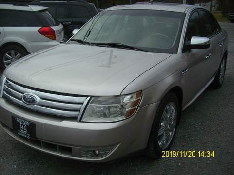 2008 Ford Taurus for sale in Belvidere, NJ