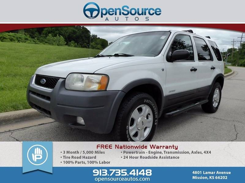 2002 Ford Escape XLT Choice 4WD 4dr SUV - Mission KS