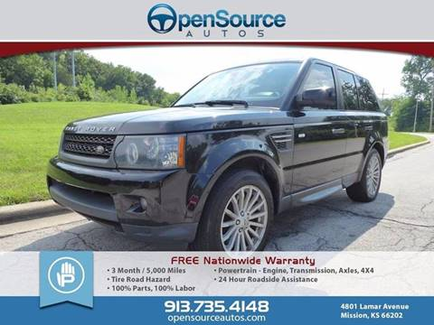 2011 Land Rover Range Rover Sport for sale in Mission, KS