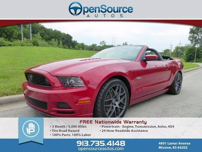 2013 Ford Mustang GT Premium 2dr Convertible - Mission KS