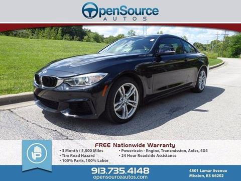 2014 BMW 4 Series for sale in Mission, KS