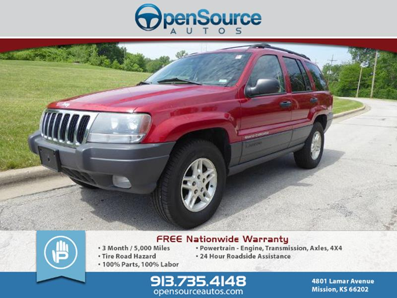 2003 Jeep Grand Cherokee For Sale At OpenSource Autos In Mission KS