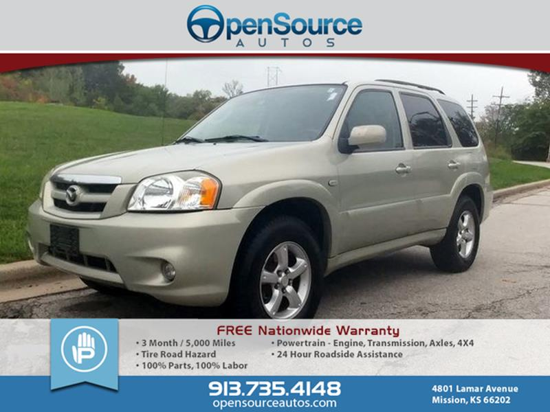 2005 Mazda Tribute S In Mission Ks Opensource Autos