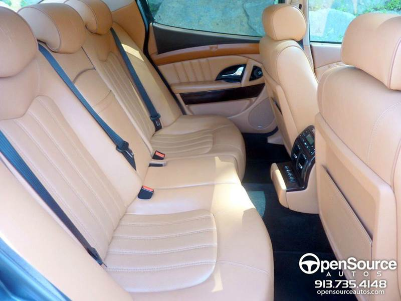 2005 Maserati Quattroporte Executive Package w/ Comfort Pack - Mission KS