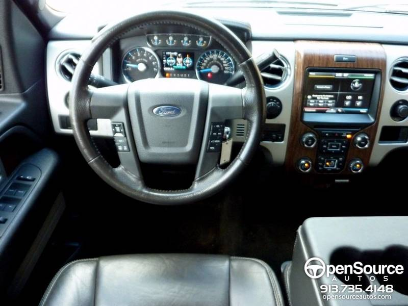 2014 Ford F-150 4x4 Lariat 4dr SuperCrew Styleside 5.5 ft. SB - Mission KS