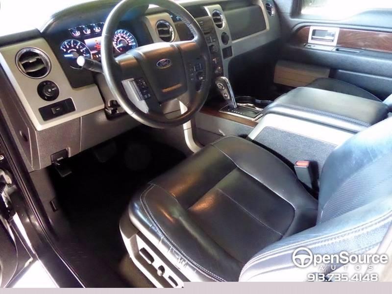 2012 Ford F-150 4x4 Lariat 4dr SuperCrew Styleside 5.5 ft. SB - Mission KS