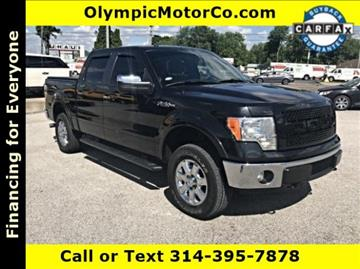 2013 Ford F-150 for sale at OLYMPIC MOTOR CO in Florissant MO
