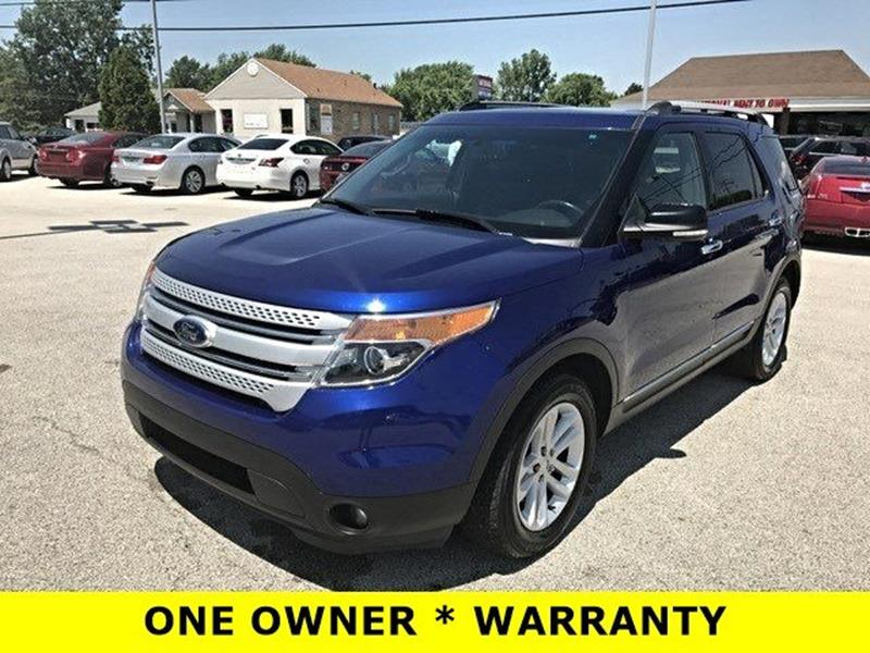 2014 Ford Explorer for sale at OLYMPIC MOTOR CO in Florissant MO