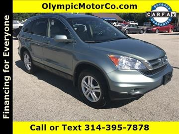 2011 Honda CR-V for sale at OLYMPIC MOTOR CO in Florissant MO