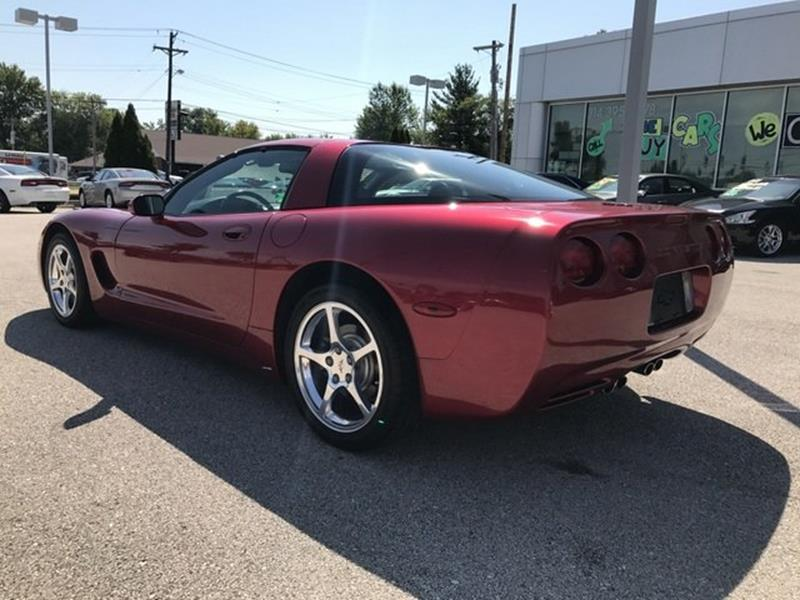 2002 Chevrolet Corvette for sale at OLYMPIC MOTOR CO in Florissant MO