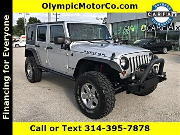 2010 Jeep Wrangler Unlimited for sale at OLYMPIC MOTOR CO in Florissant MO