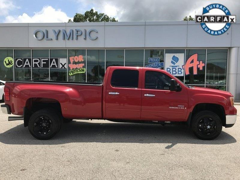 2008 GMC Sierra 3500HD for sale at OLYMPIC MOTOR CO in Florissant MO