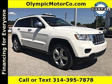2011 Jeep Grand Cherokee for sale at OLYMPIC MOTOR CO in Florissant MO