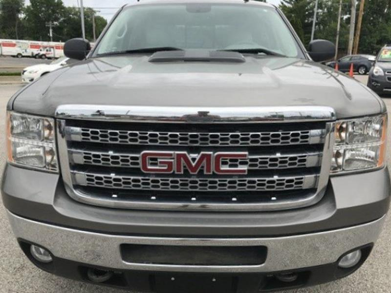 2013 GMC Sierra 2500HD for sale at OLYMPIC MOTOR CO in Florissant MO