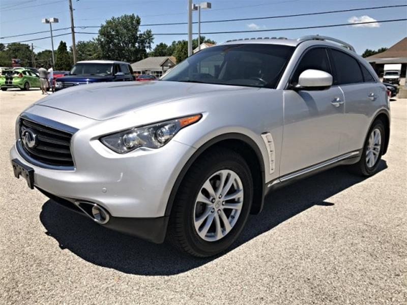 2013 Infiniti FX37 for sale at OLYMPIC MOTOR CO in Florissant MO