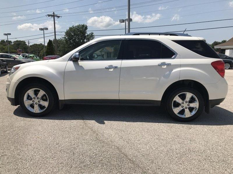 2013 Chevrolet Equinox for sale at OLYMPIC MOTOR CO in Florissant MO