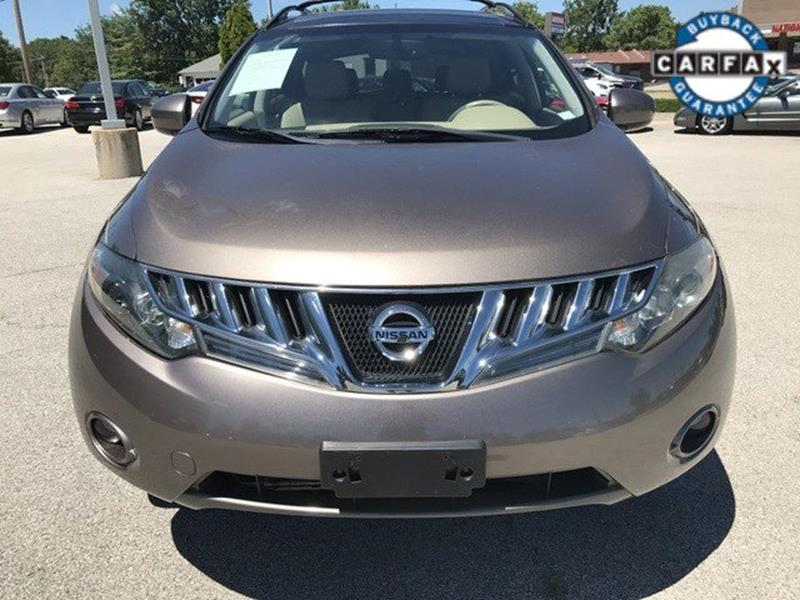 2009 Nissan Murano for sale at OLYMPIC MOTOR CO in Florissant MO