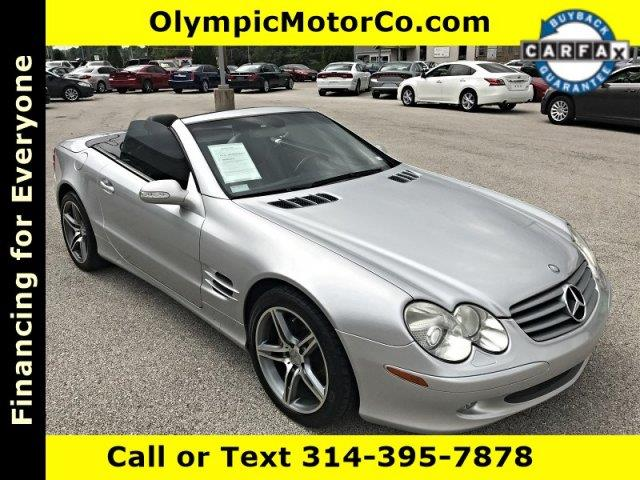 2003 Mercedes-Benz SL-Class for sale at OLYMPIC MOTOR CO in Florissant MO