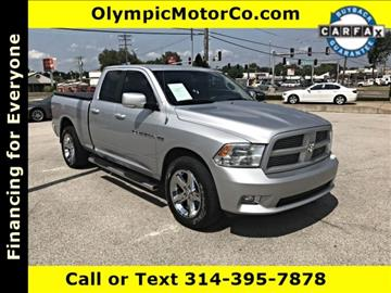 2011 RAM Ram Pickup 1500 for sale at OLYMPIC MOTOR CO in Florissant MO