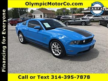 2010 Ford Mustang for sale at OLYMPIC MOTOR CO in Florissant MO