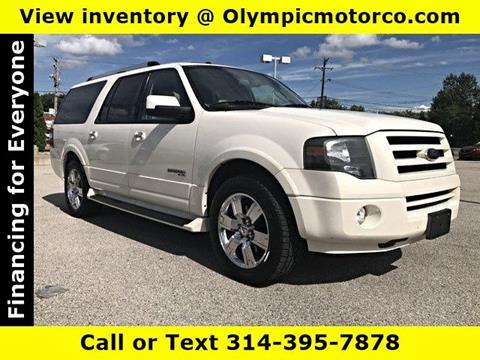 2008 Ford Expedition EL for sale at OLYMPIC MOTOR CO in Florissant MO