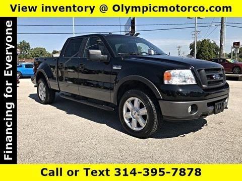 2007 Ford F-150 for sale at OLYMPIC MOTOR CO in Florissant MO