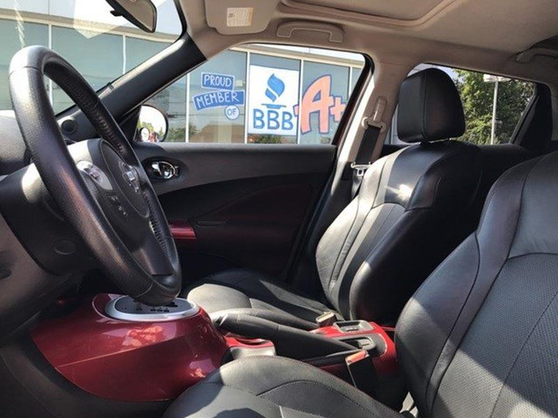 2012 Nissan JUKE for sale at OLYMPIC MOTOR CO in Florissant MO