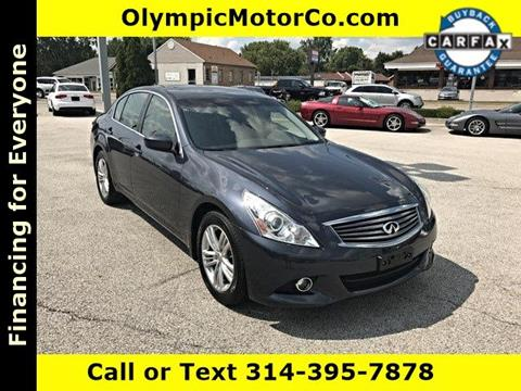 2011 Infiniti G37 Sedan for sale at OLYMPIC MOTOR CO in Florissant MO