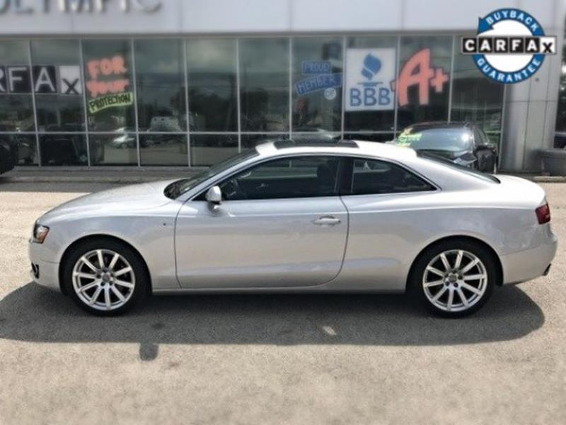 2012 Audi A5 for sale at OLYMPIC MOTOR CO in Florissant MO