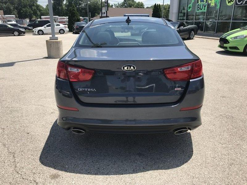 2015 Kia Optima for sale at OLYMPIC MOTOR CO in Florissant MO