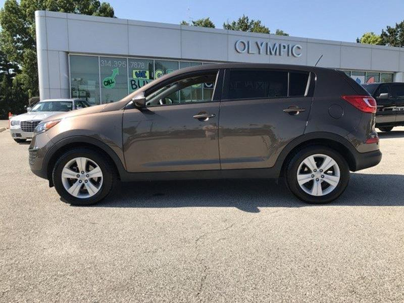 2012 Kia Sportage for sale at OLYMPIC MOTOR CO in Florissant MO
